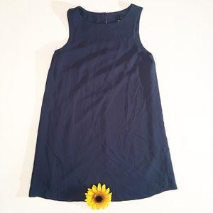 Asos maternity navy blue shift dress size 6